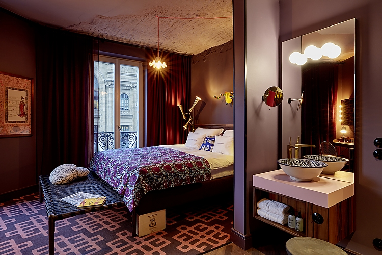 25hours Hotel Terminus in Paris - Hotelzimmer